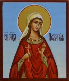 Рукописная икона Пелагея Тарсийская 3