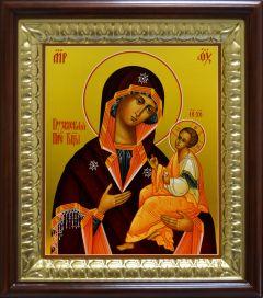 Рукописная икона Грузинская Божия Матерь