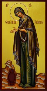 Рукописная икона Геронтисса