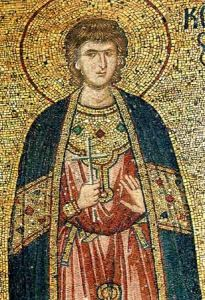 Рукописная икона Святой Андроник Тарсийский купить с доставкой