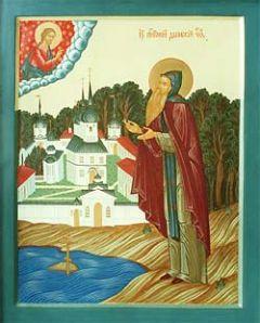 Рукописная икона Святой Антоний Дымский купить с доставкой