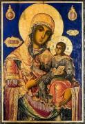 Рукописная икона Бачковская Божия Матерь