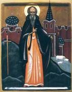 Рукописная икона Святой Брэннок Браунтонский