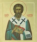 Рукописная икона Святой Валентин Интерамский