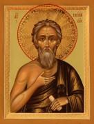 Рукописная икона Василий Блаженный