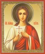 Рукописная икона Святая мученица Вера