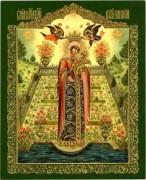 Рукописная икона Вертоград заключенный