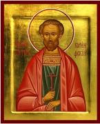 Рукописная икона Виктор Коринфский