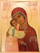 Рукописная икона Воронинская Одигитрия