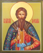 Рукописная икона Вячеслав Чешский