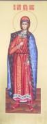 Рукописная икона Святой Глеб