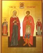 Рукописная семейная икона