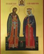 Рукописная семейная икона 4