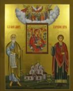 Рукописная семейная икона 7