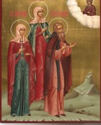 Рукописная семейная икона 9