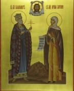 Рукописная семейная икона 10