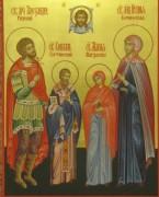 Рукописная семейная икона 11