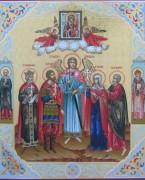 Рукописная семейная икона 18