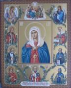 Рукописная семейная икона 19