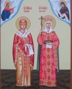 Рукописная семейная икона 22