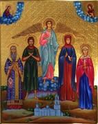 Рукописная семейная икона 28