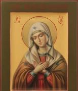 Рукописная икона Дивеевская Божия Матерь