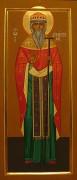 Рукописная икона Дионисий Радонежский