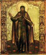 Рукописная икона Евфимий Архангелогородский