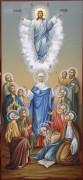 Рукописная икона Вознесение Господне
