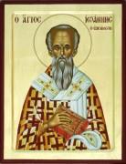 Рукописная икона Иоанн Милостивый