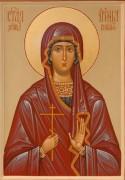 Рукописная икона Ирина Коринфская