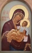 Рукописная икона Муромская Божия Матерь