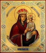 Рукописная икона Споручница грешных