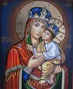 Рукописная икона Киево-Братская