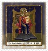 Рукописная икона Кипяжская