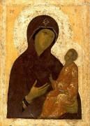 Рукописная икона Кирилло-Белозерская