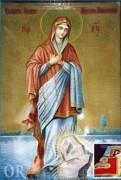 Рукописная икона Луковская