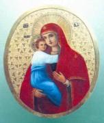 Рукописная икона Ляданская