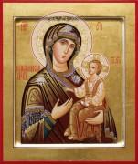 Рукописная икона Макарьевская
