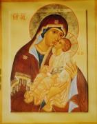 Рукописная икона Божией Матери Мати Молебница