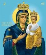 Рукописная икона Божией Матери Могилево-Братская