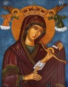 Рукописная икона Панагия Ту Хару