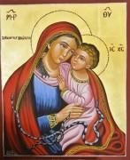 Рукописная икона Панагия Федуса