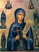 Рукописная икона Параскева Сербская