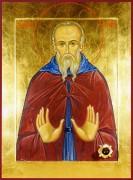 Рукописная икона Пимен Великий