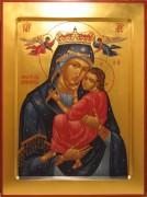 Рукописная икона Самборская