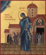 Рукописная икона Светописанная