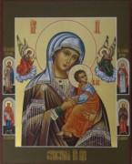 Рукописная икона Страстная