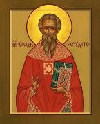 Рукописная икона Феодор Студит