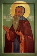 Рукописная икона Ферапонт Белозерский Можайский